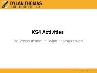 KS4  Activities