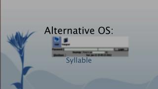 Alternative OS: