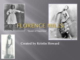 Florence Mills