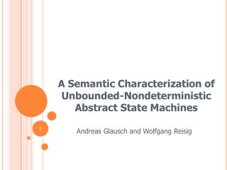 A Semantic Characterization of Unbounded-Nondeterministic Abstract State Machines