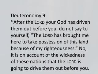 Deuteronomy 9