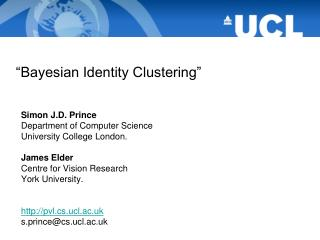 """Bayesian Identity Clustering"""