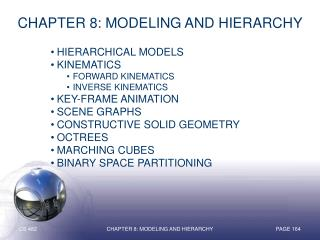Chapter 8: Modeling and Hierarchy