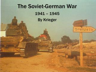 The Soviet-German War