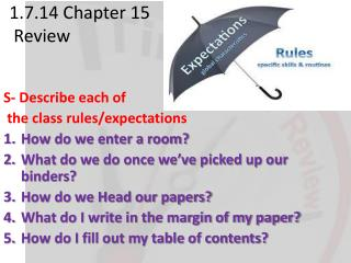 1.7.14 Chapter 15  Review