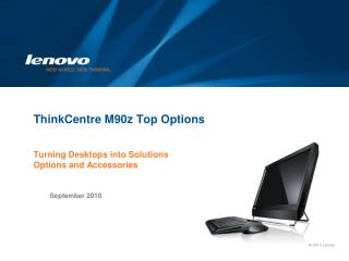 Lenovo Corporate Template