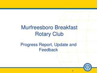 Murfreesboro Breakfast  Rotary Club