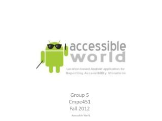 Accessible World