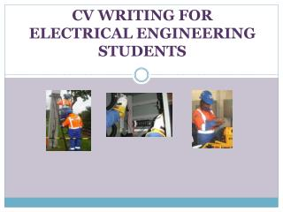 CV WRITING FOR ELECTRICAL ENGINEERING STUDENTS