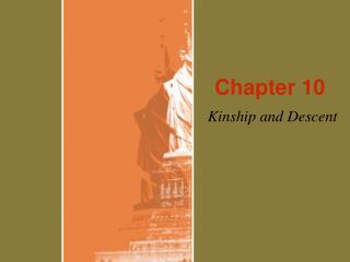 Kinship and Descent