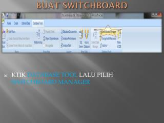BUAT SWITCHBOARD