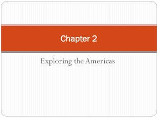 Chapter 2. North America