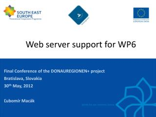 Web server  support for  WP6