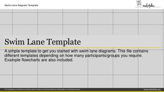 Swim Lane Template
