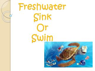 Freshwater  Sink Or  Swim