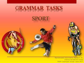 G RAMMAR   TASKS