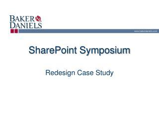 SharePoint Symposium