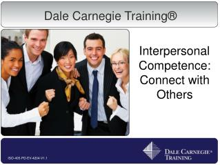 Interpersonal Competence: Connect with Others