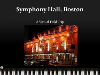 Symphony Hall, Boston