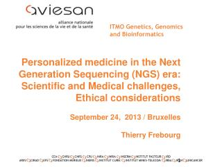 ITMO Genetics, Genomics  and Bioinformatics