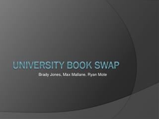 University Book Swap