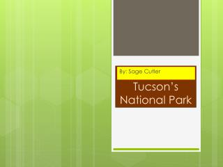 Tucson's National Park