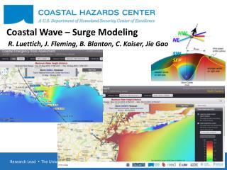 Coastal Wave – Surge Modeling