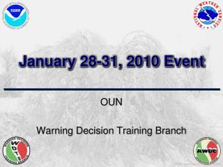 January 28-31, 2010 Event
