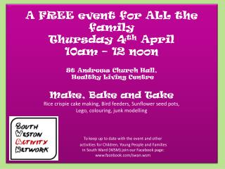 A FREE event for swan easter 13