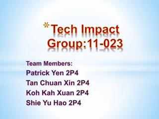 Tech Impact Group:11-023
