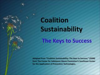Coalition  Sustainability