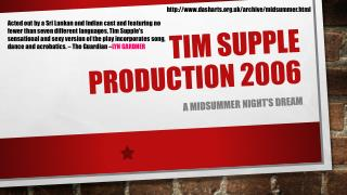 Tim Supple production 2006