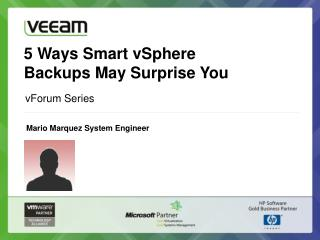 5 Ways Smart vSphere  Backups  May Surprise You