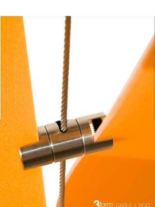 m aterial                          acero inoxidable d i ámetro de cable              3 milímetros
