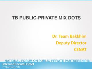 TB PUBLIC-PRIVATE MIX DOTS