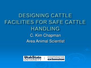 Designing Cattle Facilities for Safe Cattle Handling
