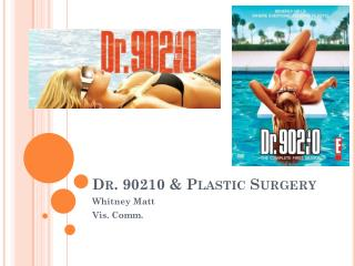 Dr. 90210 & Plastic Surgery