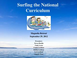 Surfing the National Curriculum