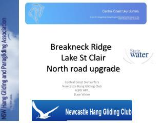 Breakneck Ridge Lake St Clair North road upgrade