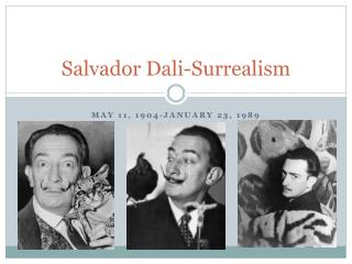 Salvador Dali-Surrealism