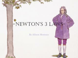 -Newton's 3 Laws-