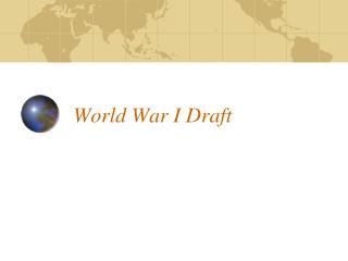 World War I Draft