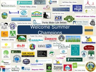 Welcome  Summer Champions