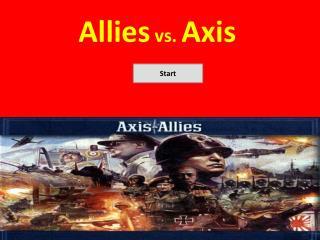Allies  vs.  Axis