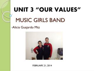 MUSIC GIRLS BAND