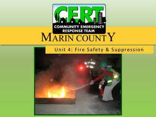 Unit 4: Fire Safety  &  Suppression