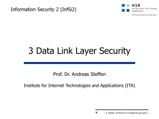 Information Security 2 (InfSi2)