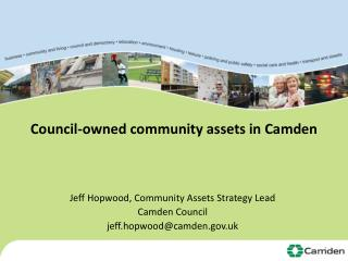 Council-owned community assets in Camden