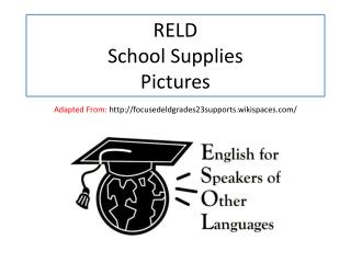 RELD  School Supplies Pictures