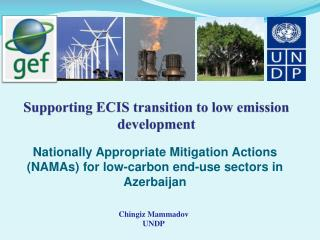 Supporting ECIS transition to low emission development
